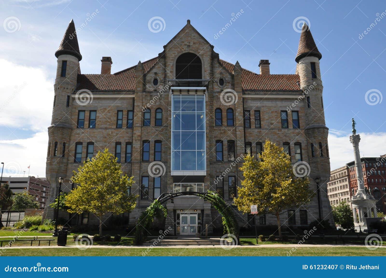 Здание суда Lackawanna County в Scranton, Пенсильвании