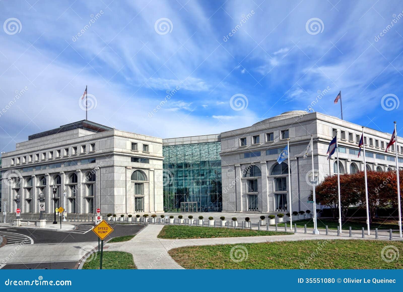 Здание Thurgood Marshall федеральное судебное в DC
