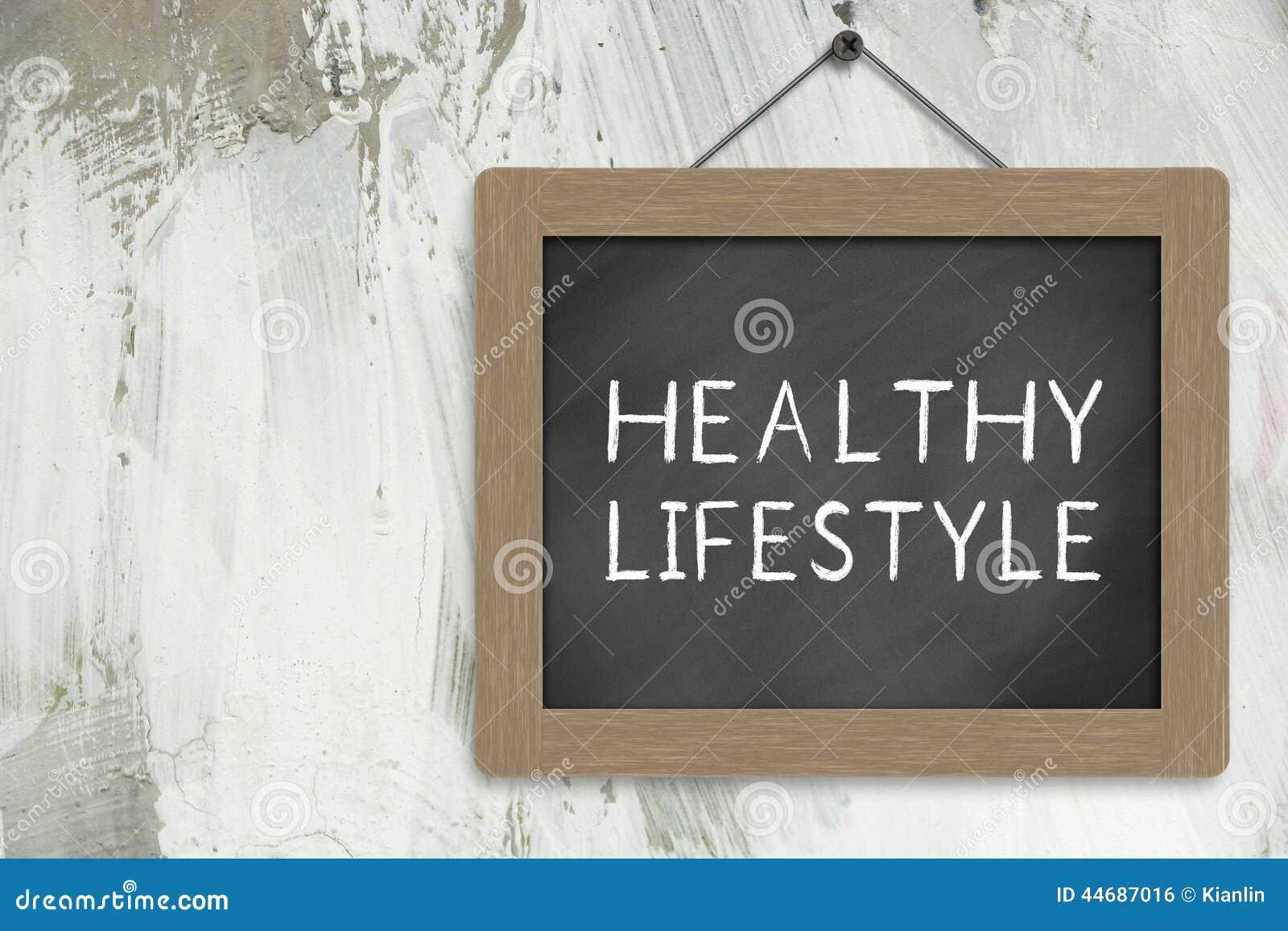 Здоровый знак образа жизни