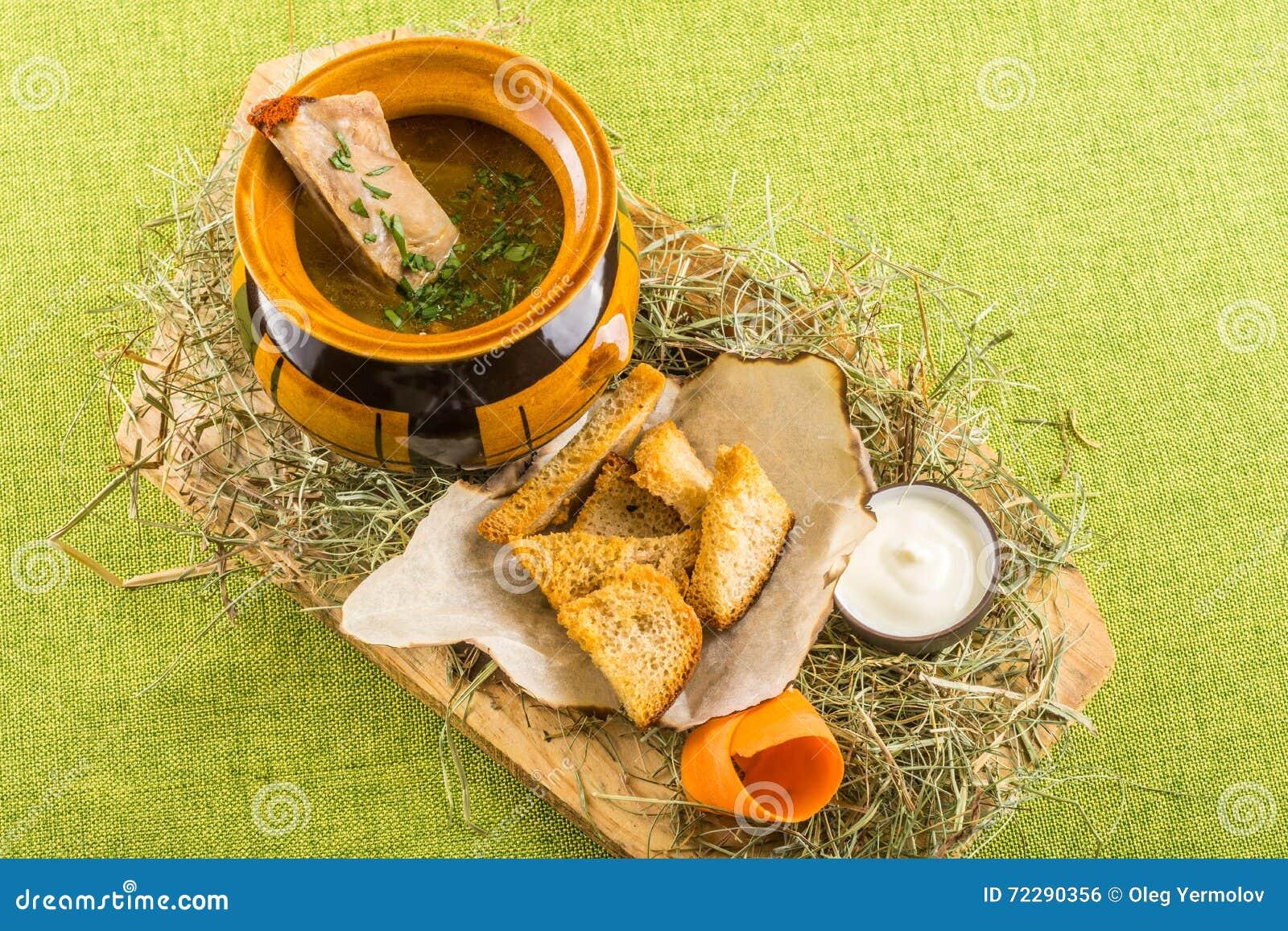 Download Здоровый домодельный суп стоковое фото. изображение насчитывающей вкусно - 72290356