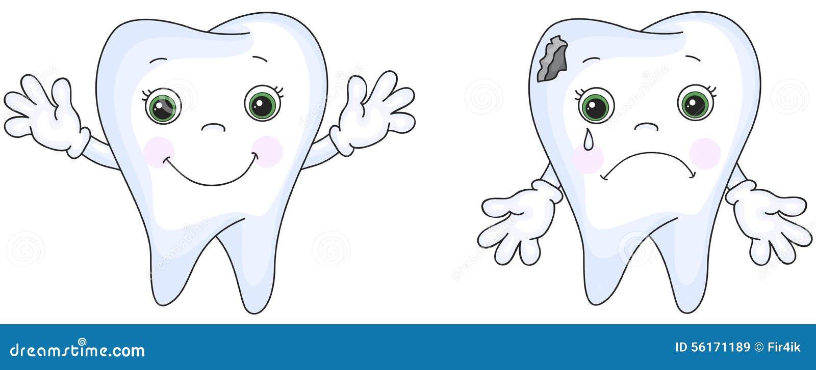 Днем перемоги, картинка для детей грустного и веселого зуба