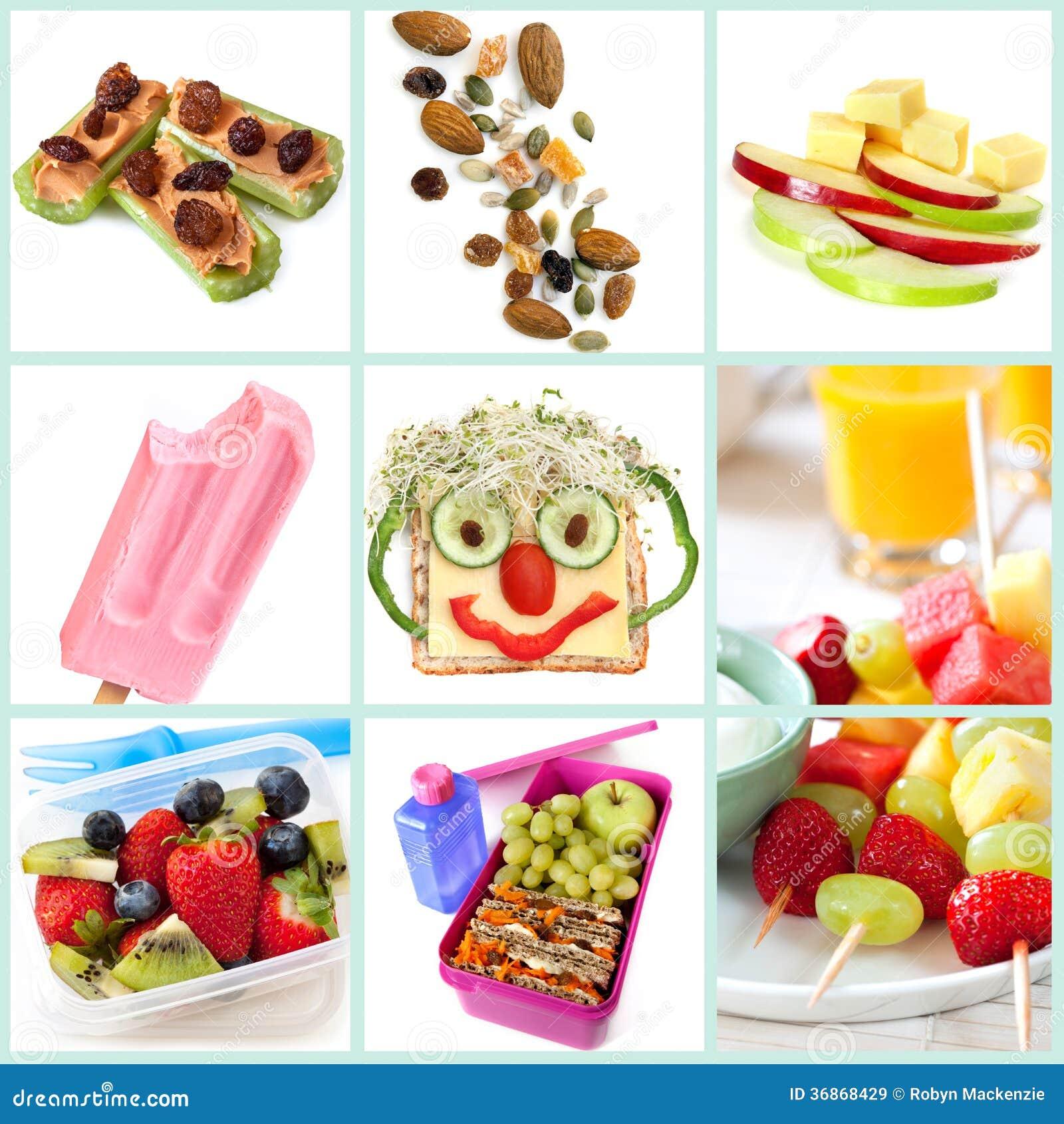 Здоровый Snacking для собрания детей