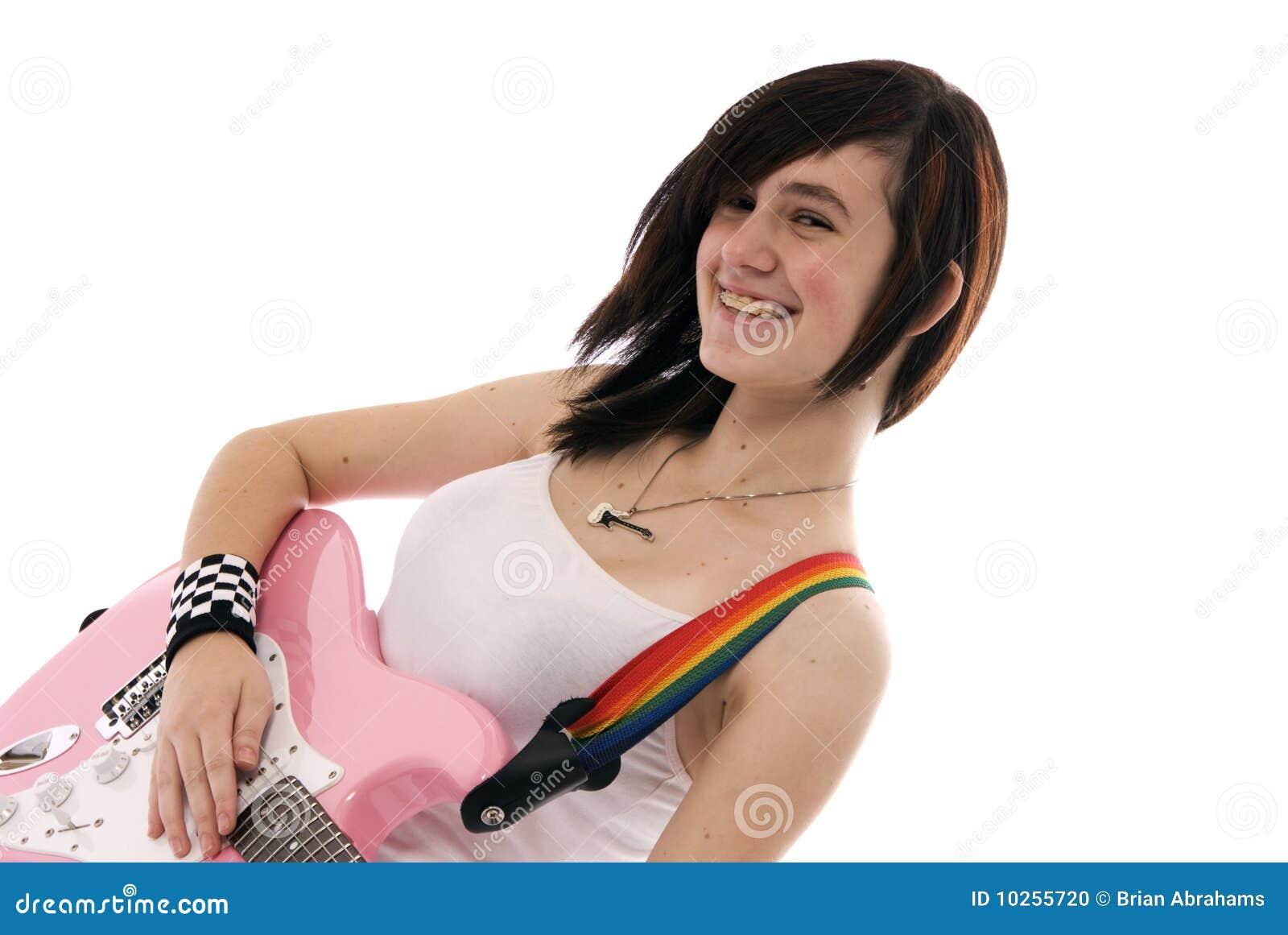 играть гитары девушки