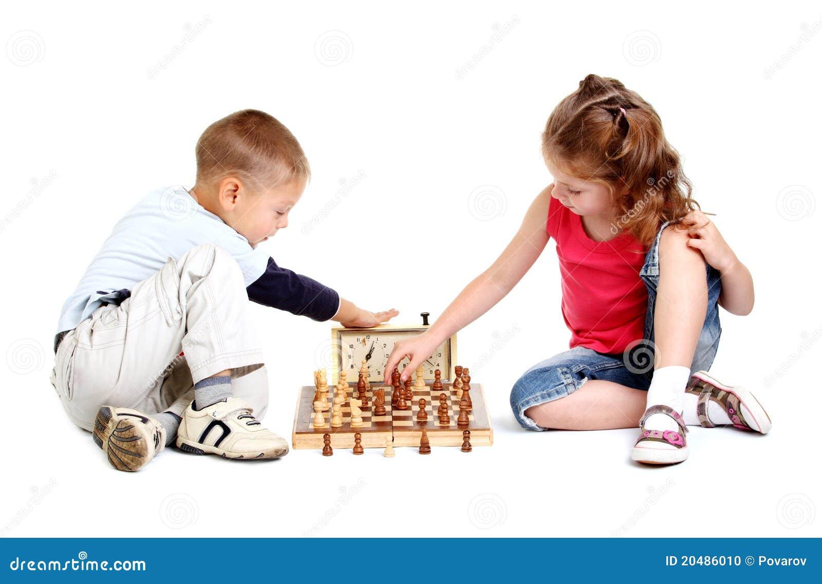 играть детей шахмат