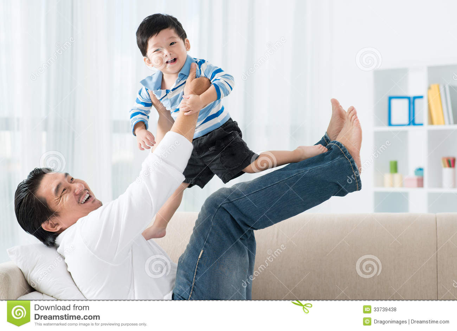 Играть с сыном