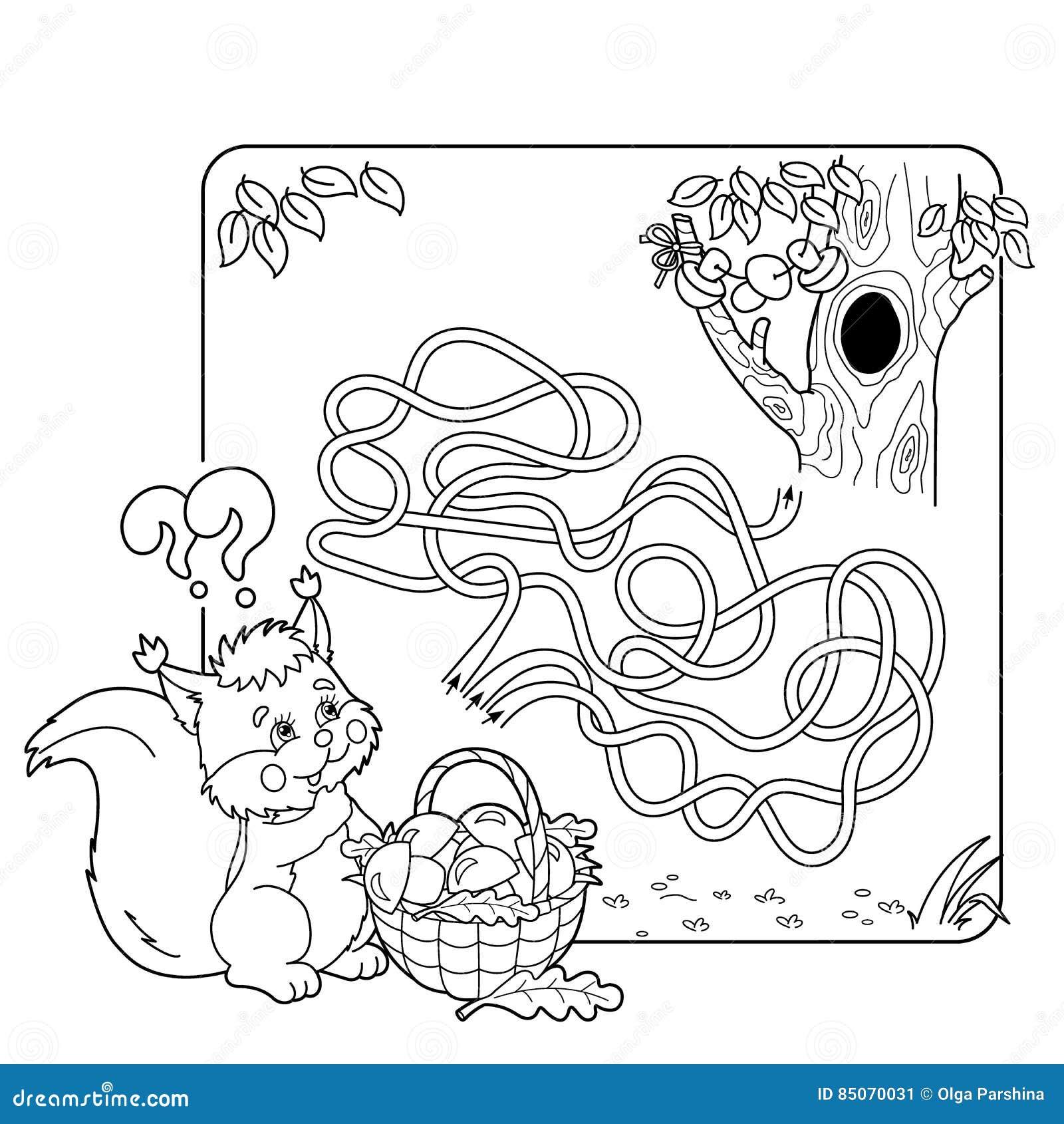 Игра лабиринта или лабиринта для детей дошкольного ...