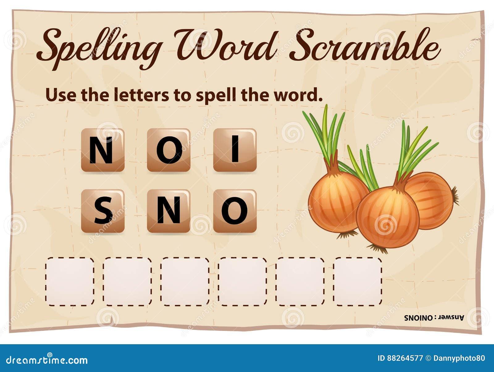 Игра борьбы слова правописания с луками слова