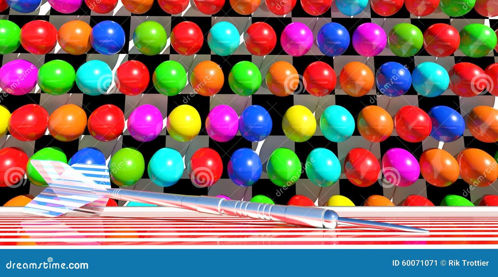 Игра воздушного шара