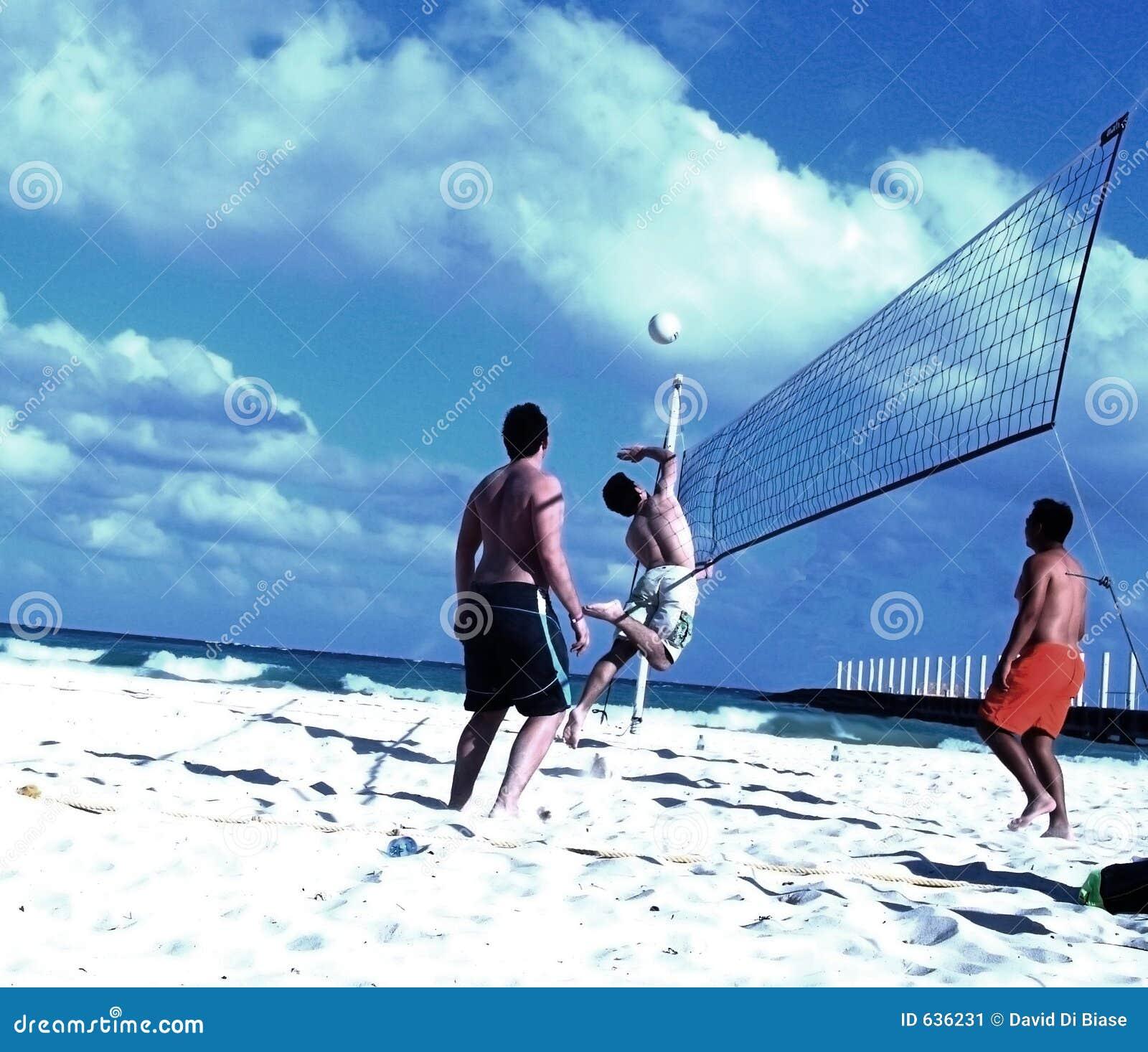 Download игра volleybal стоковое изображение. изображение насчитывающей игра - 636231