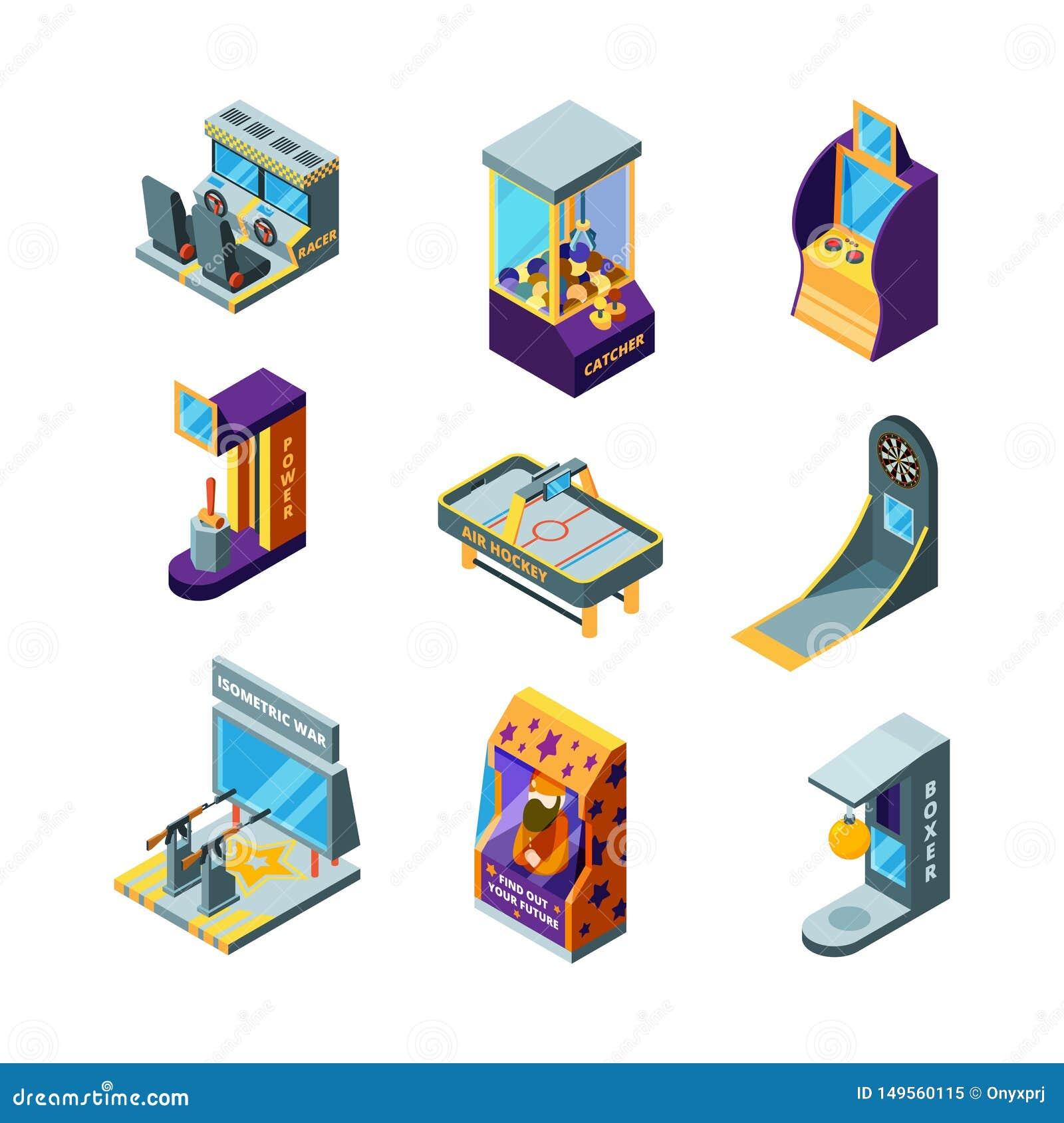 для игры игровые детей автоматы
