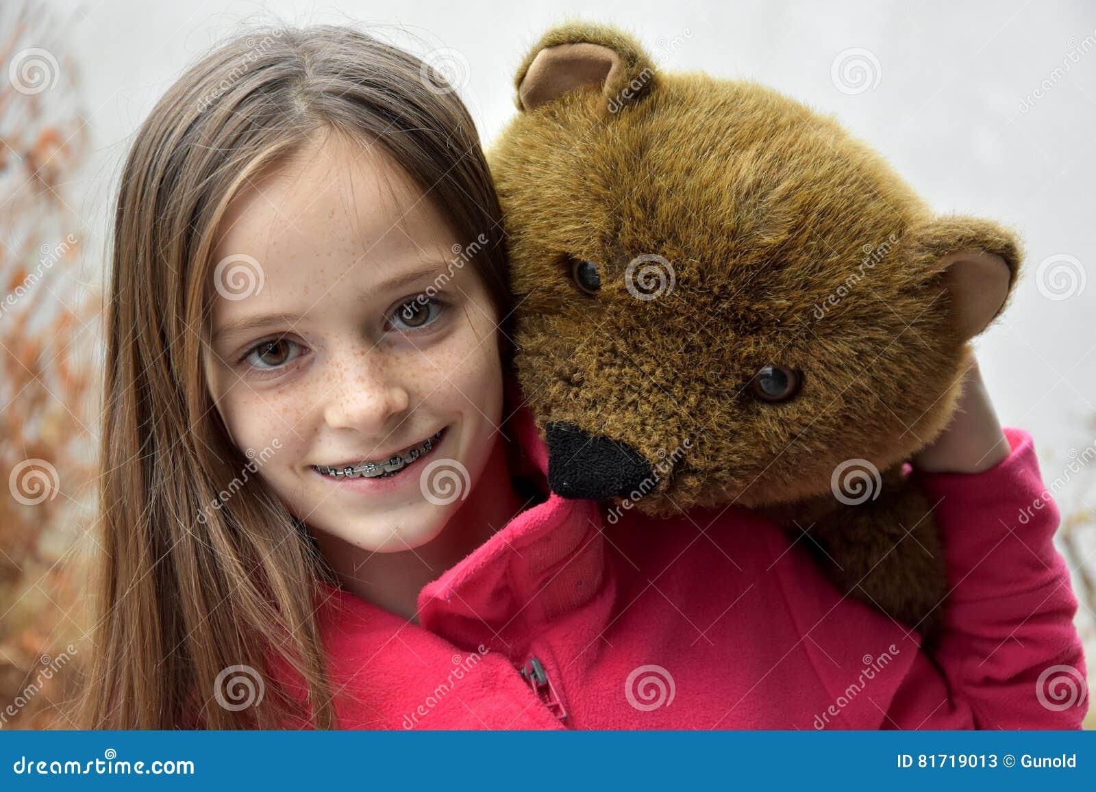 игрушечный девушки медведя подростковый