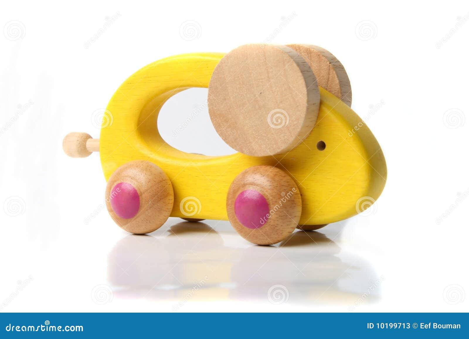 игрушка мыши деревянная