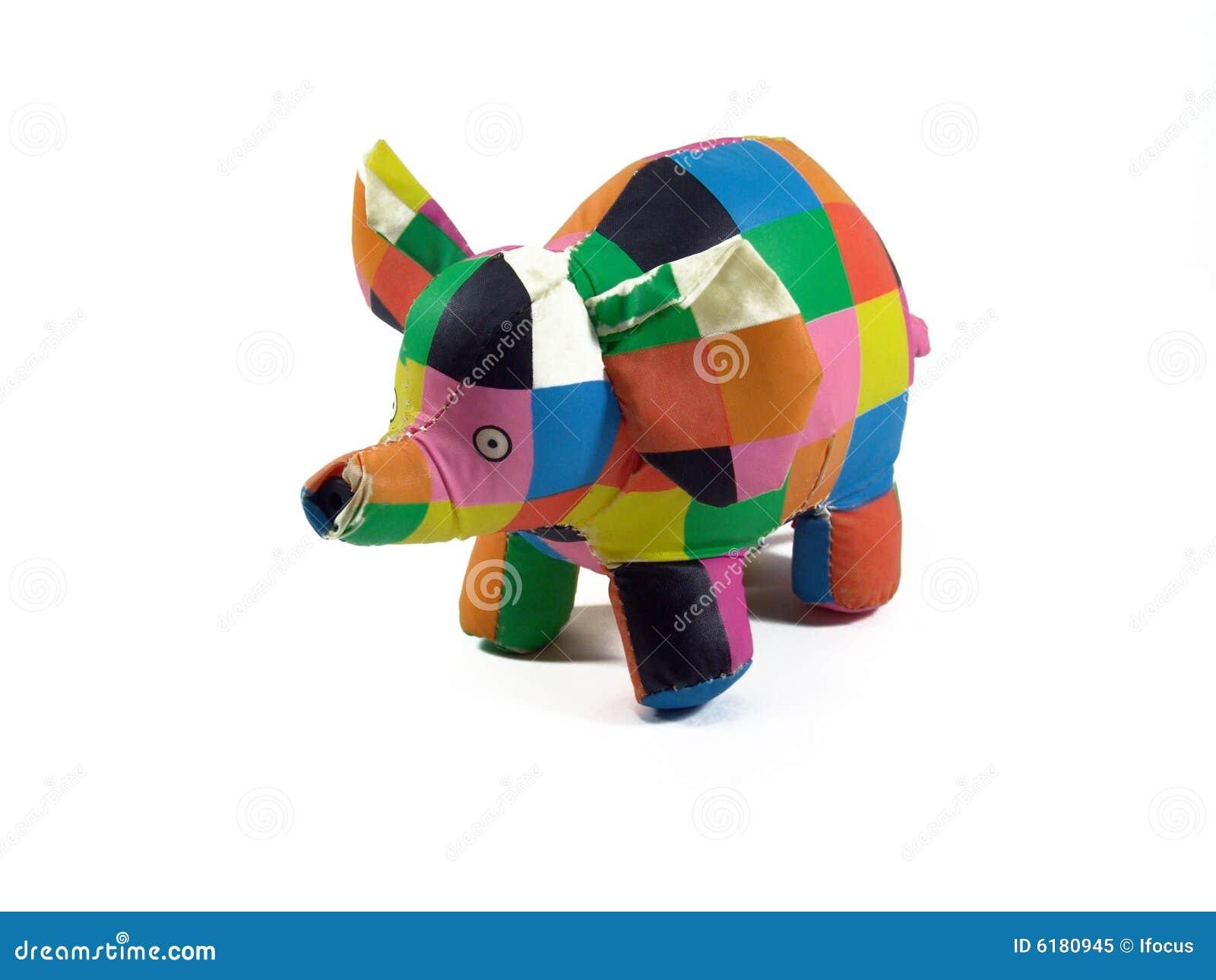 игрушка слона ванны цветастая