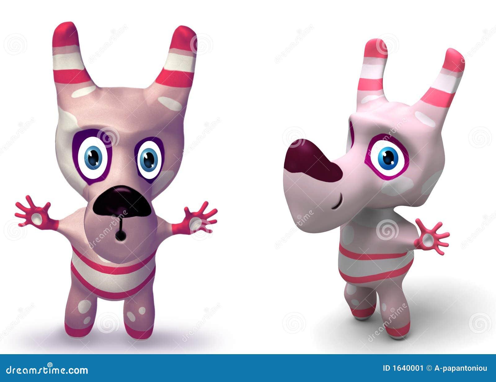 игрушка собаки характера 3d