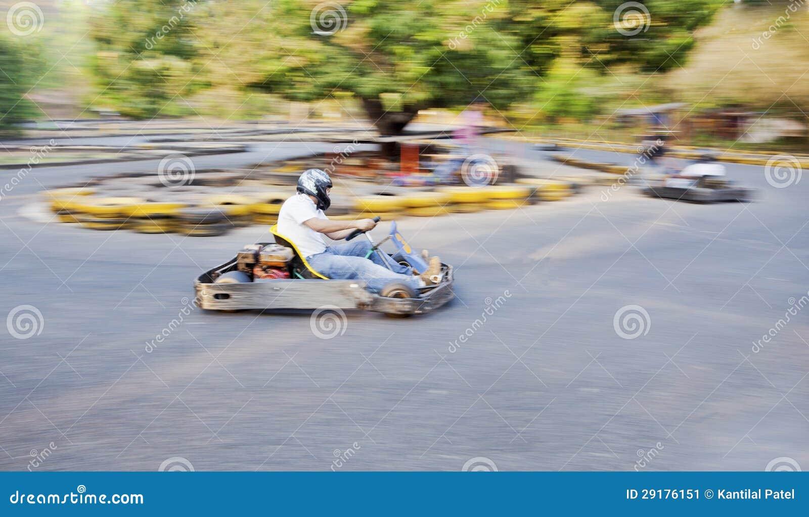 Идет след Goa Индия Kart