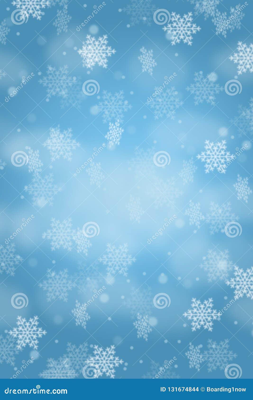 Идти снег copyspace формата портрета снежинок снега картины карты предпосылки рождества