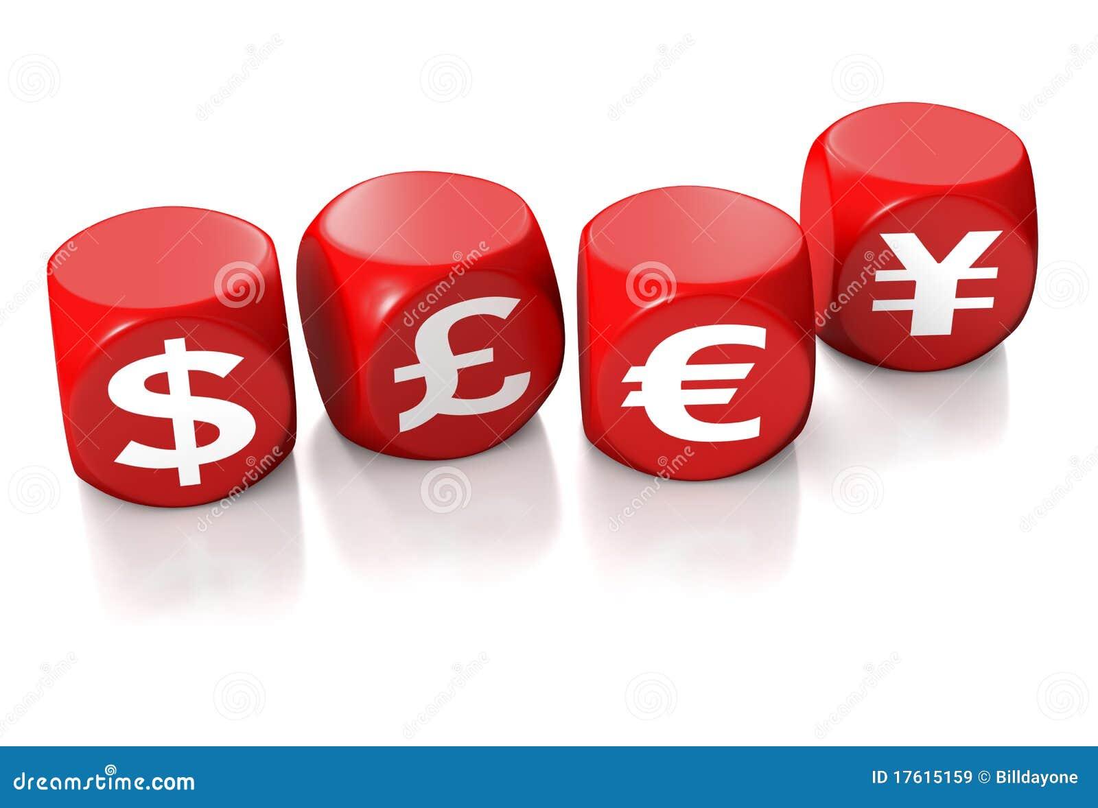иены символов фунта евро доллара