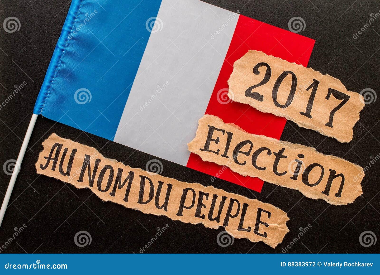 Избрание 2017, надпись на скомканном куске бумаги