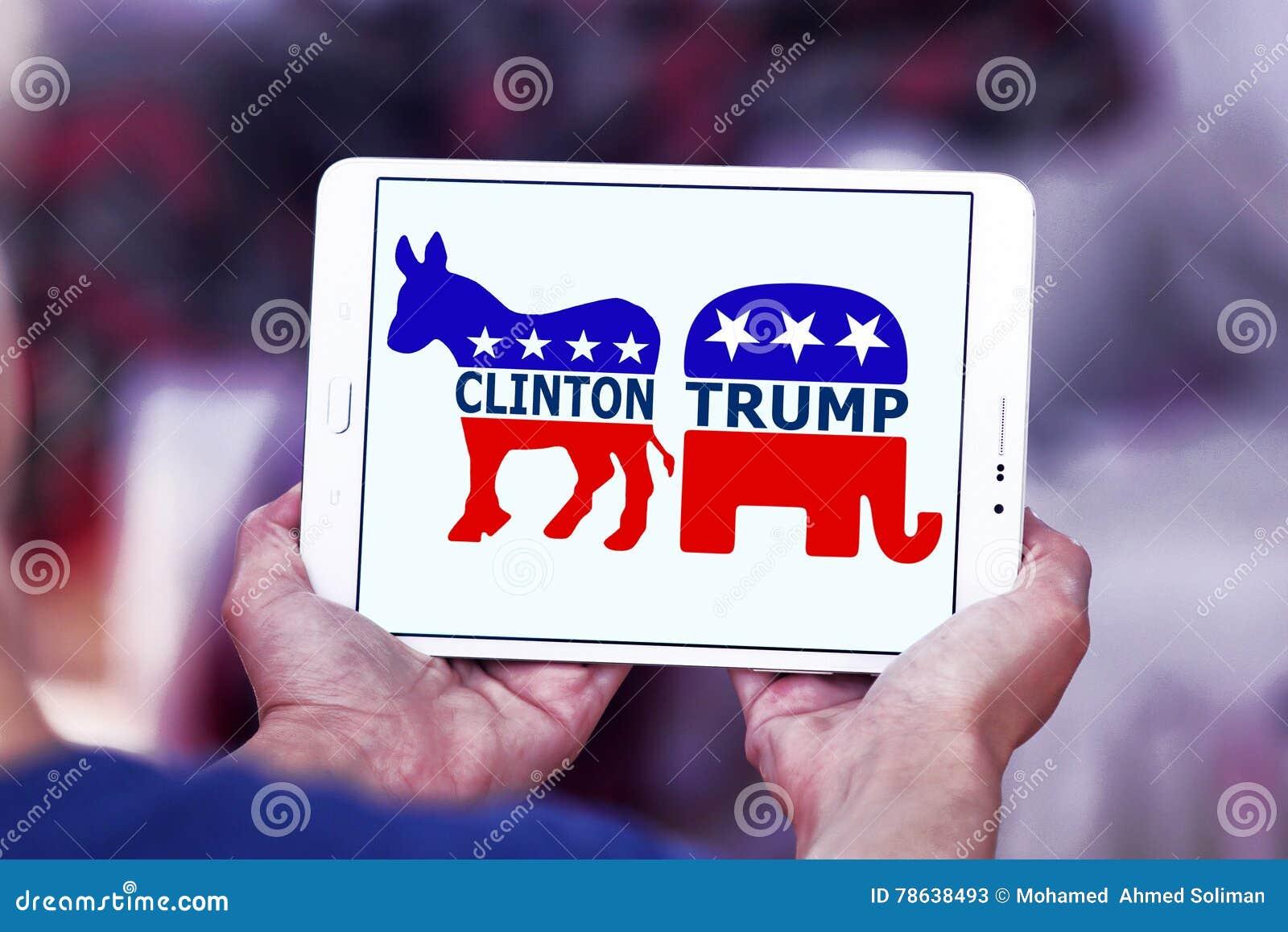Избрание США между козырем и Хиллари Клинтон