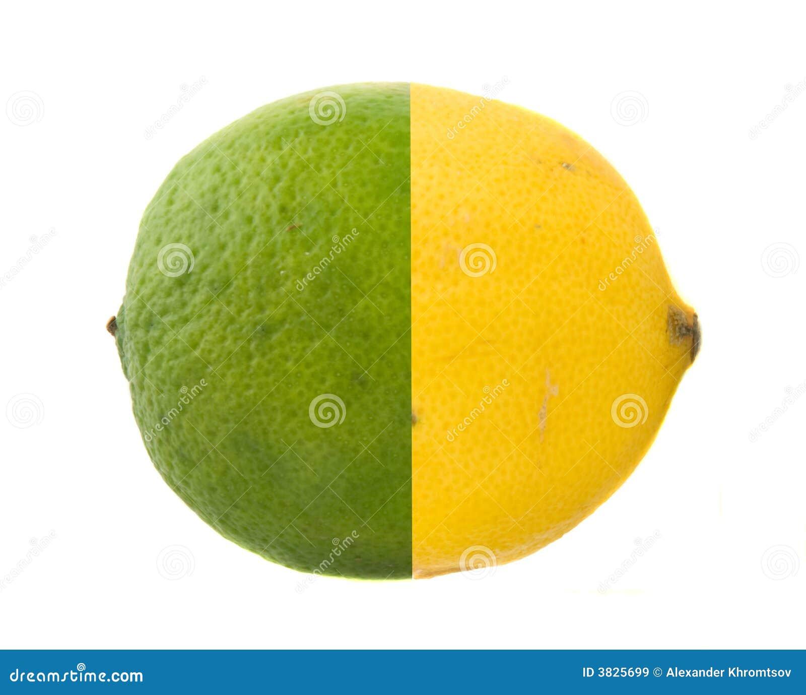 известка одно лимона
