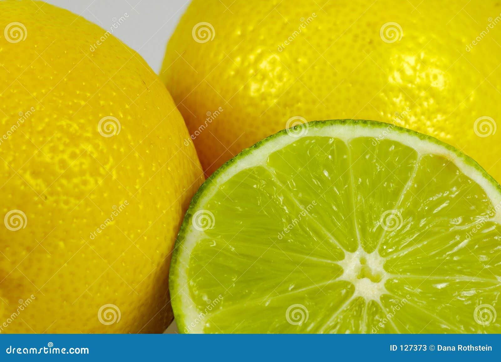 известка 2 лимонов