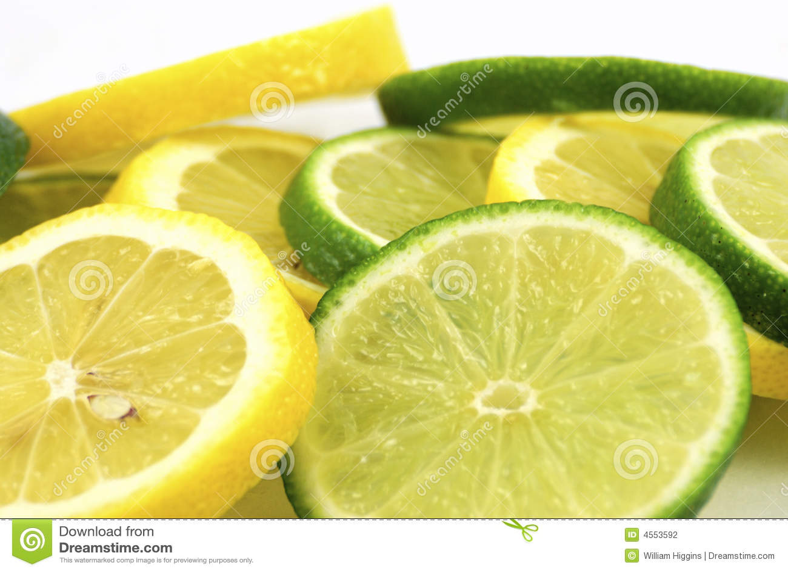 известки лимонов