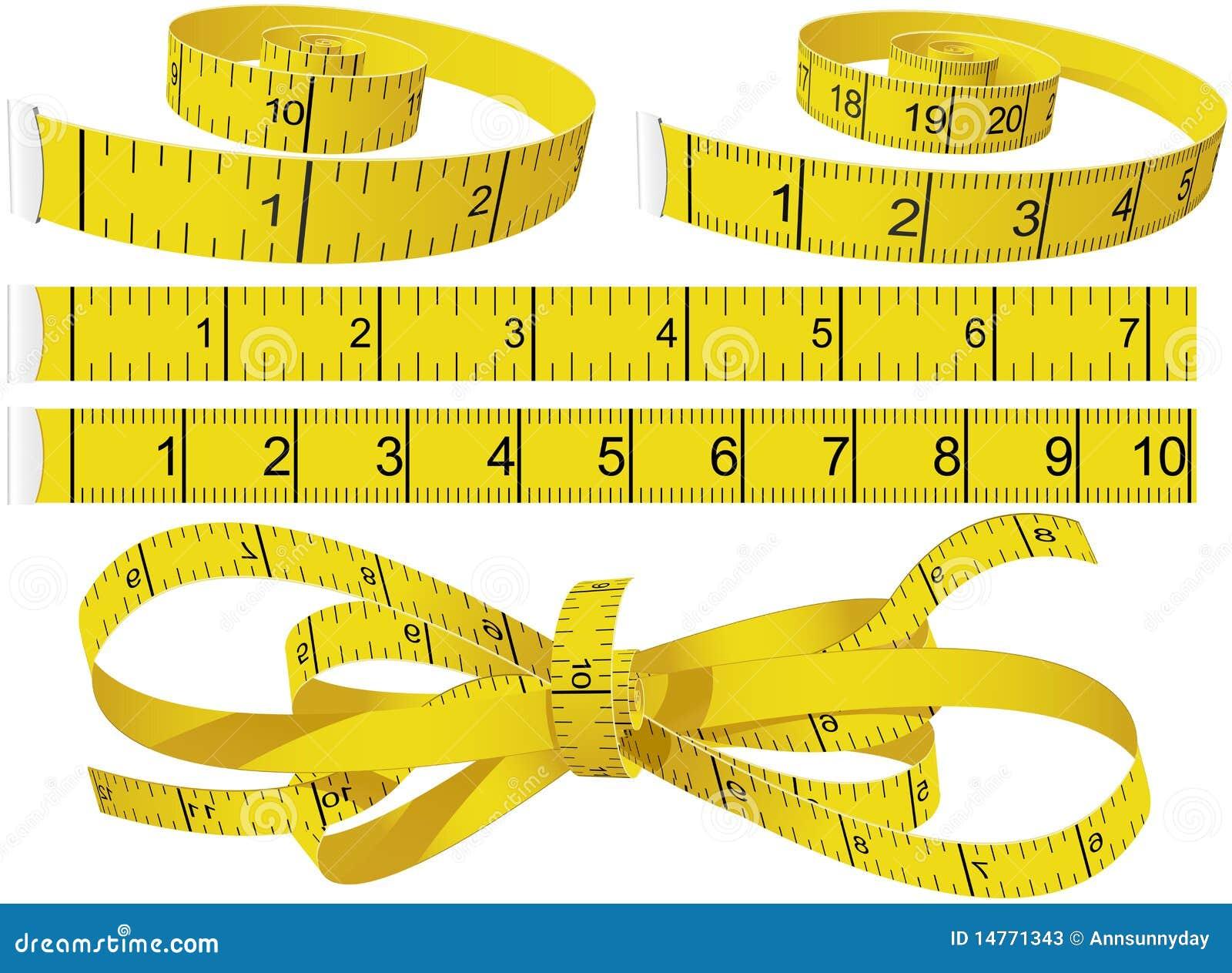 измеряя ленты
