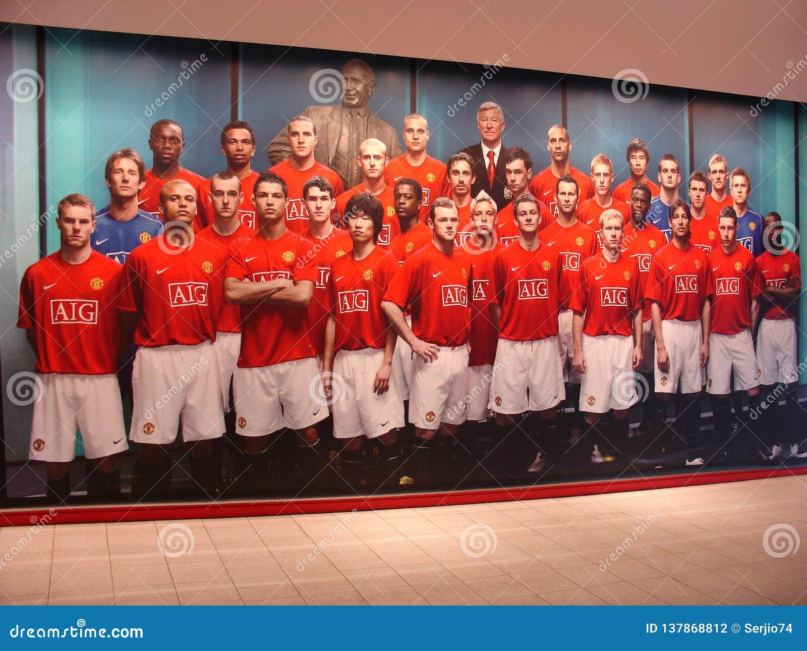 Фотки футбольной команды манчестер юнайтед