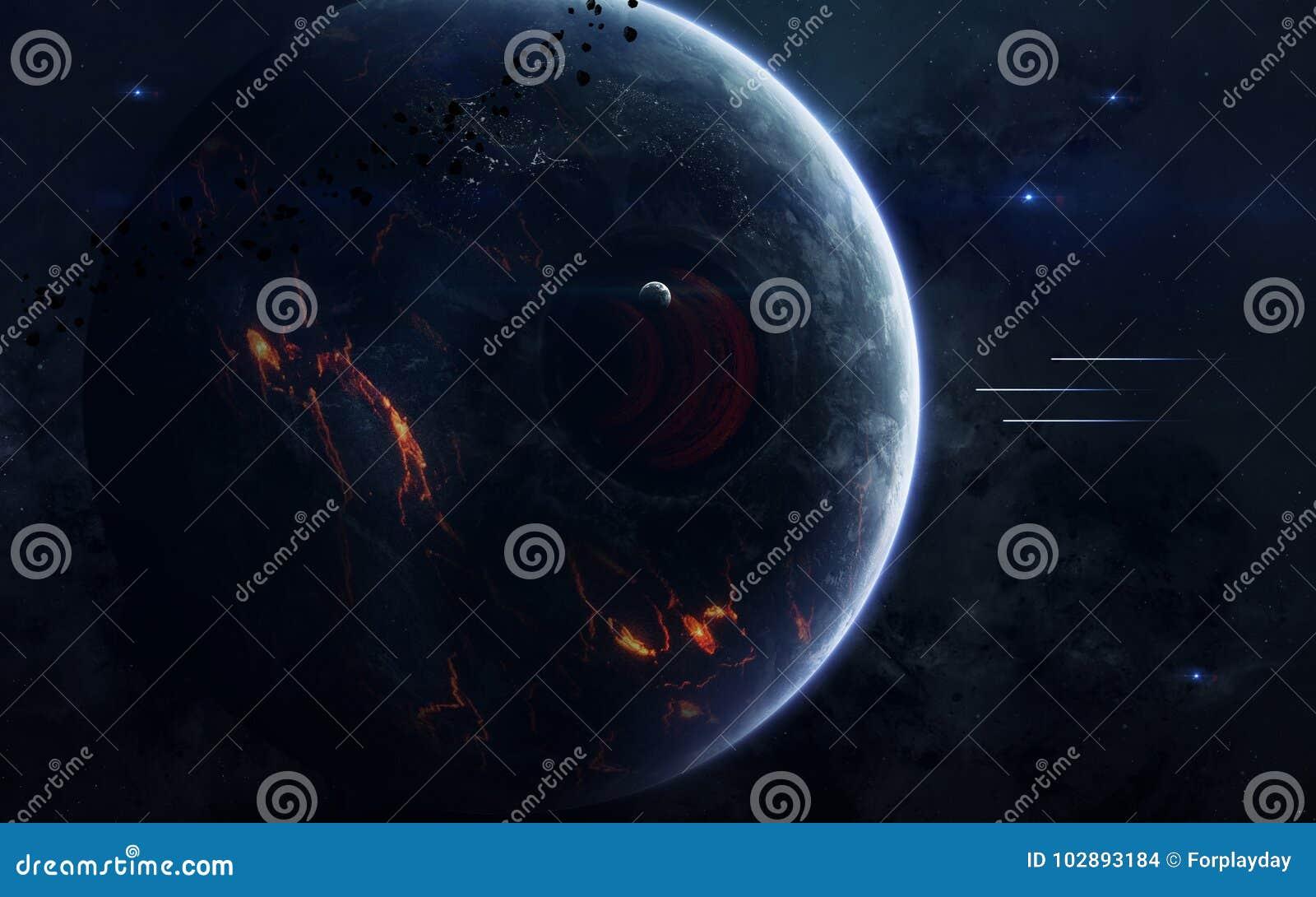 Изображение научной фантастики науки о космосе Элементы этого изображения поставленные NASA