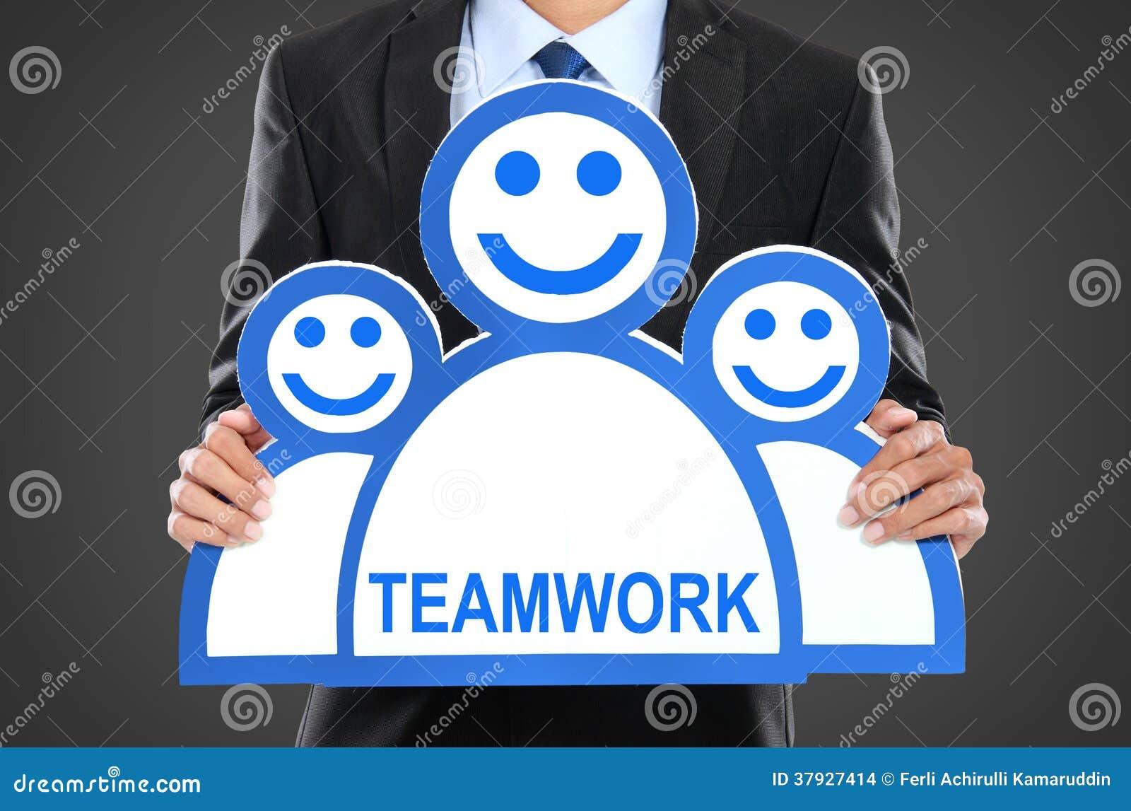 изображение руководителя 3d представило команду Босс компании Сыгранность