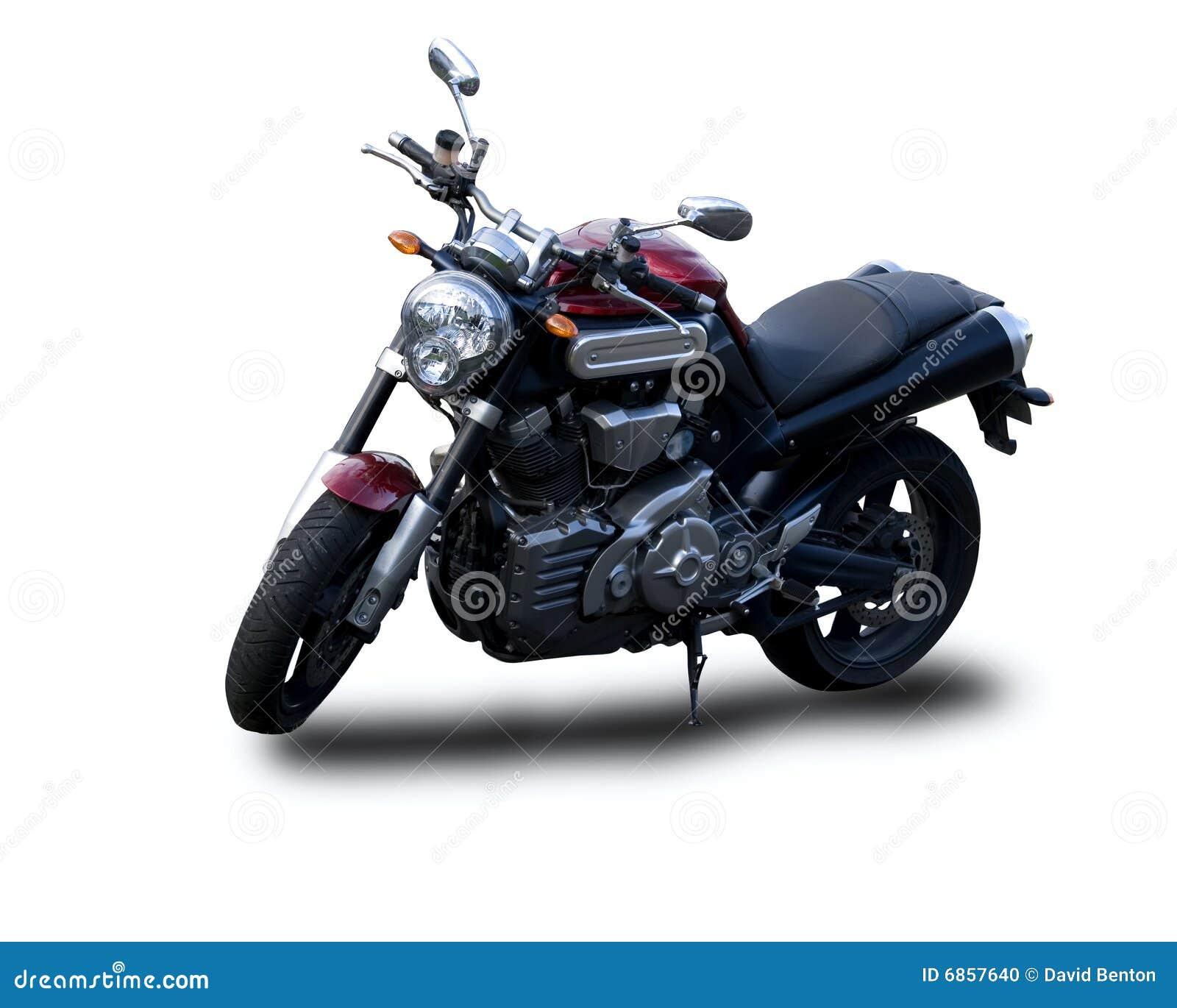 изолированная белизна мотоцикла