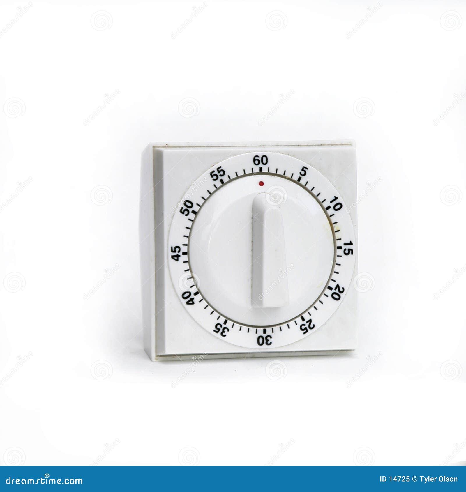 изолированная белизна отметчика времени