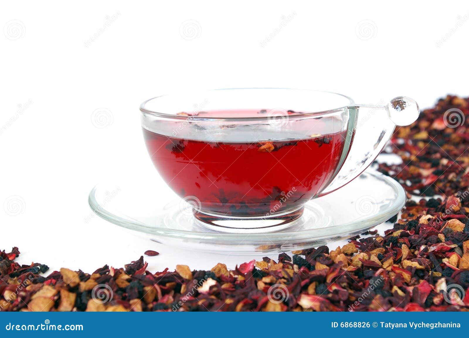 изолированная белизна чая