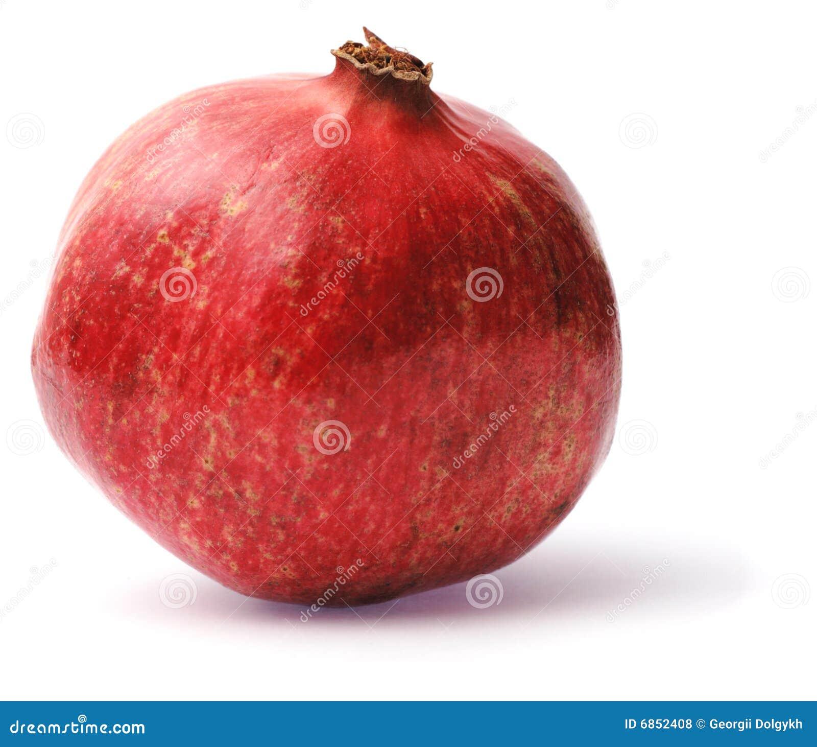 изолированная белизна pomegranate