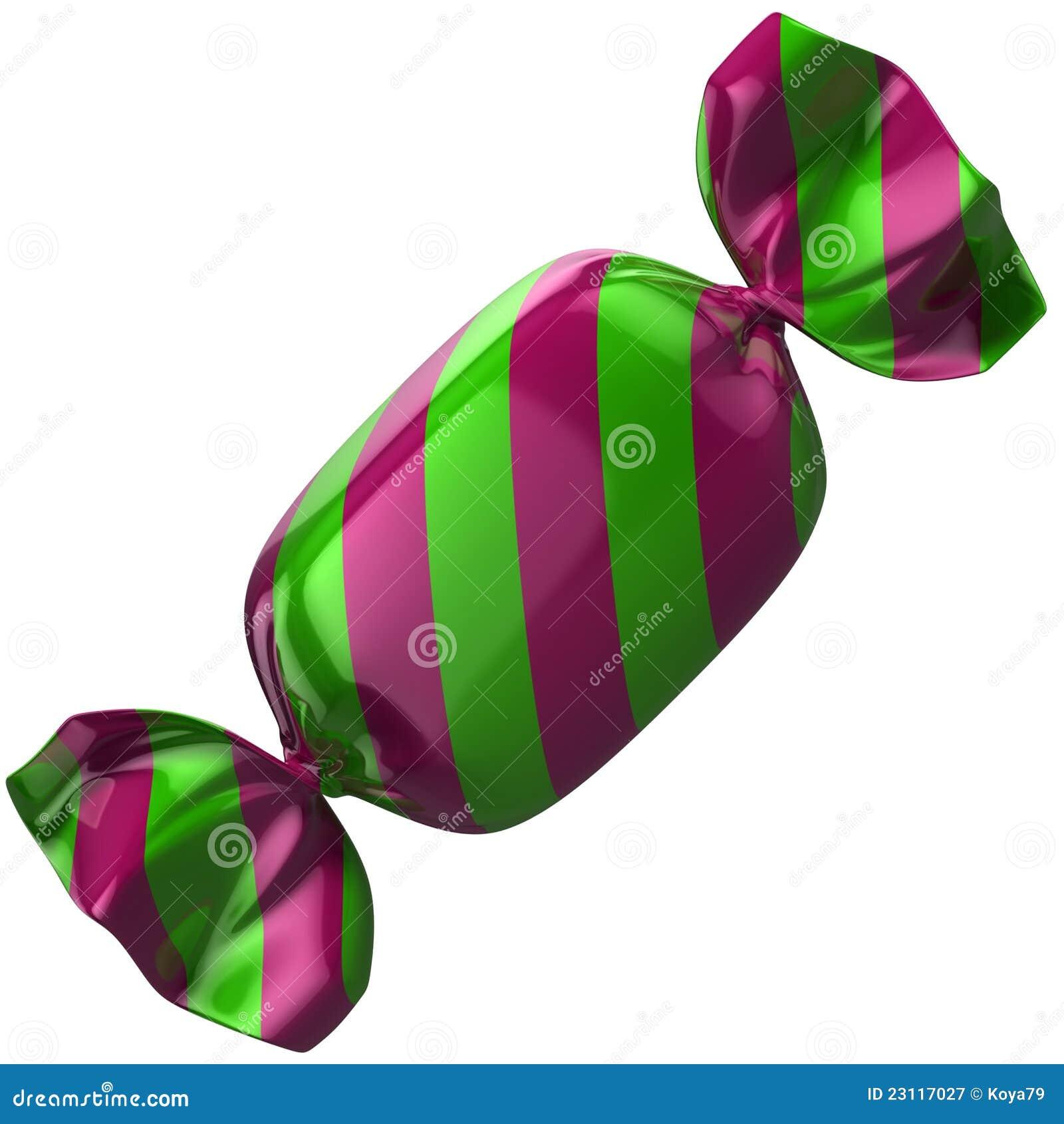 изолированная конфета 3d