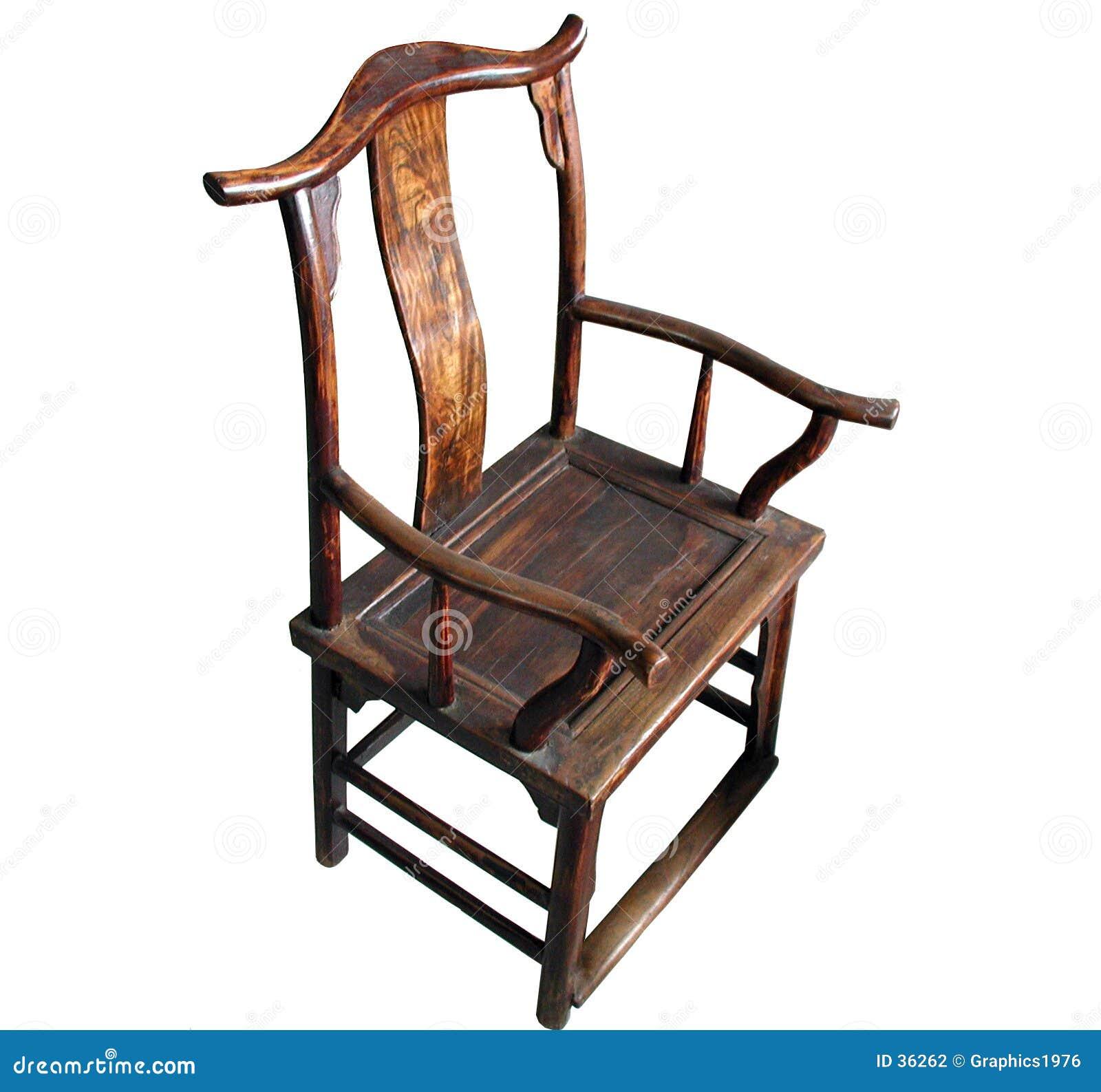 изолированная мебель античного стула китайская