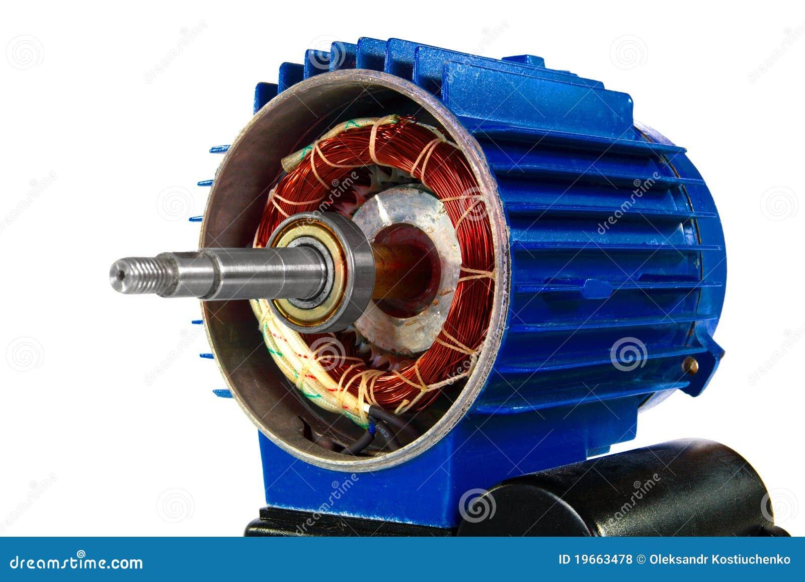 изолированная предпосылкой белизна мотора