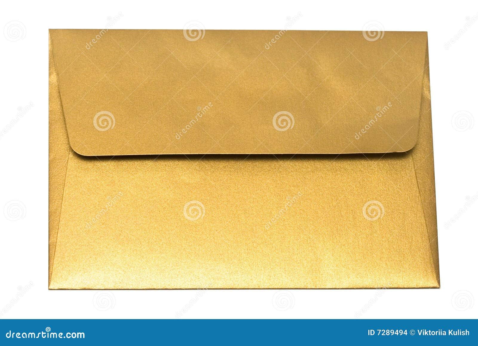 изолированное золото габарита