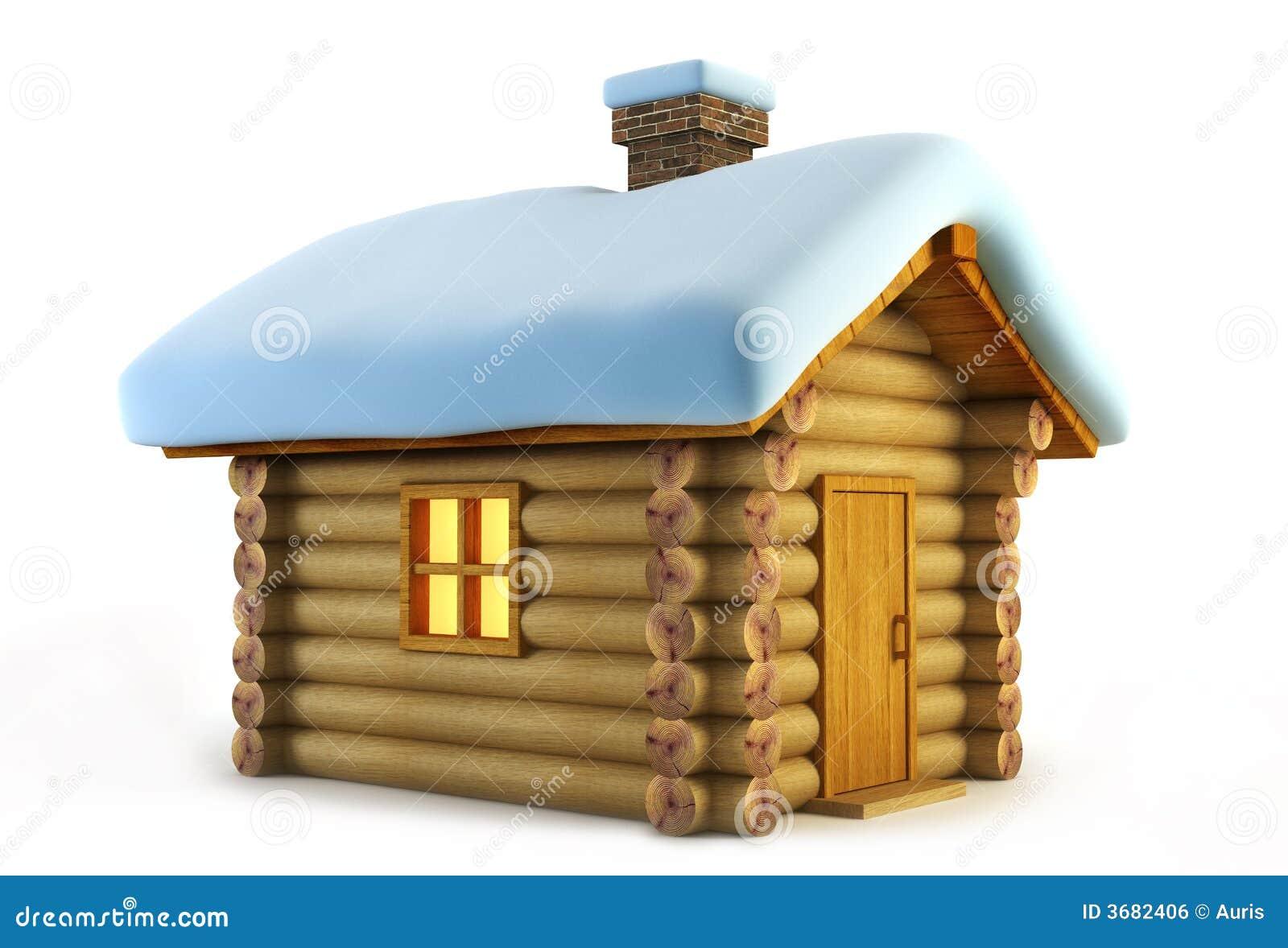 изолированное loghouse