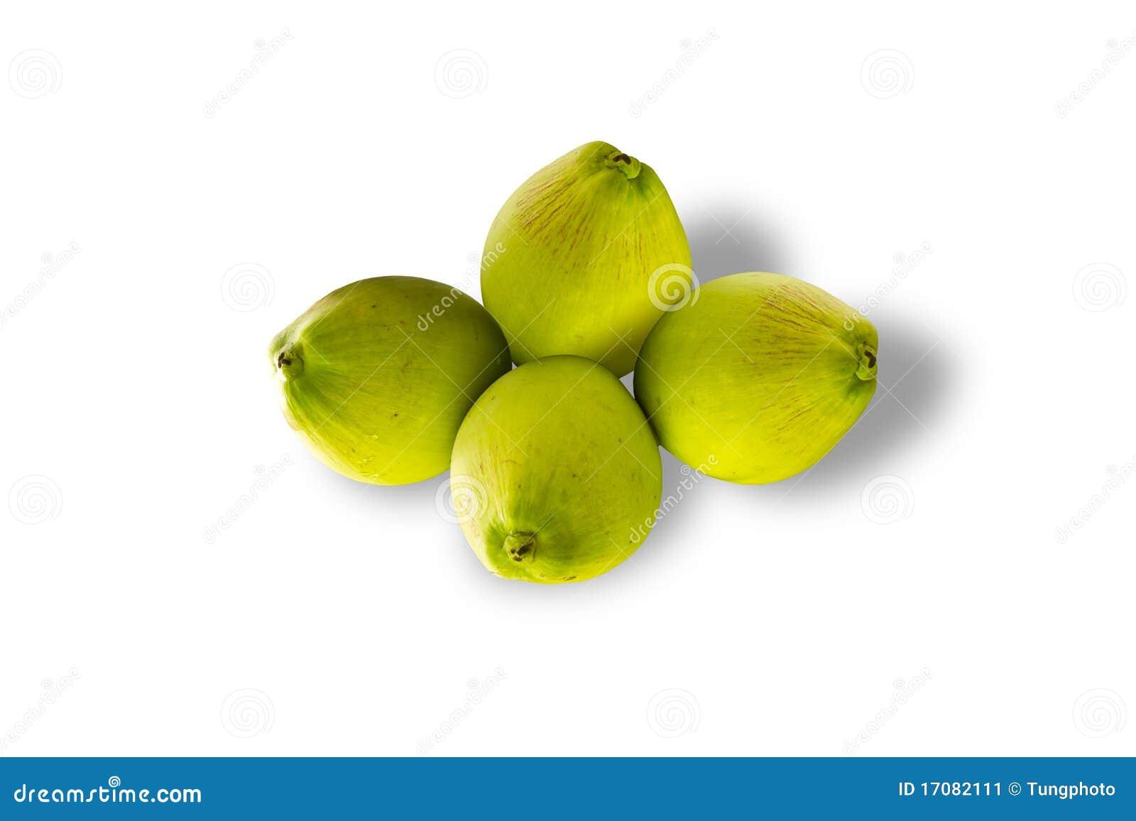 изолированный плодоовощ кокоса