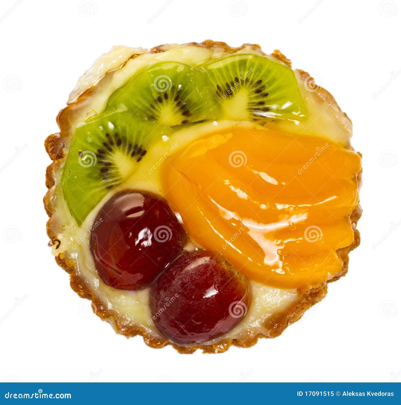 изолированный плодоовощ торта