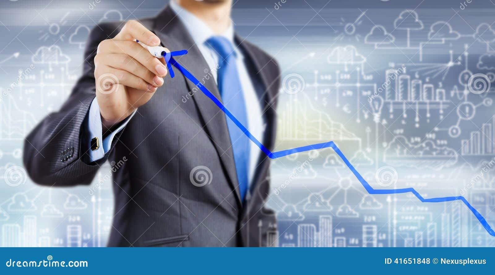 изолированная иллюстрация роста принципиальной схемы предпосылки 3d представила белизну