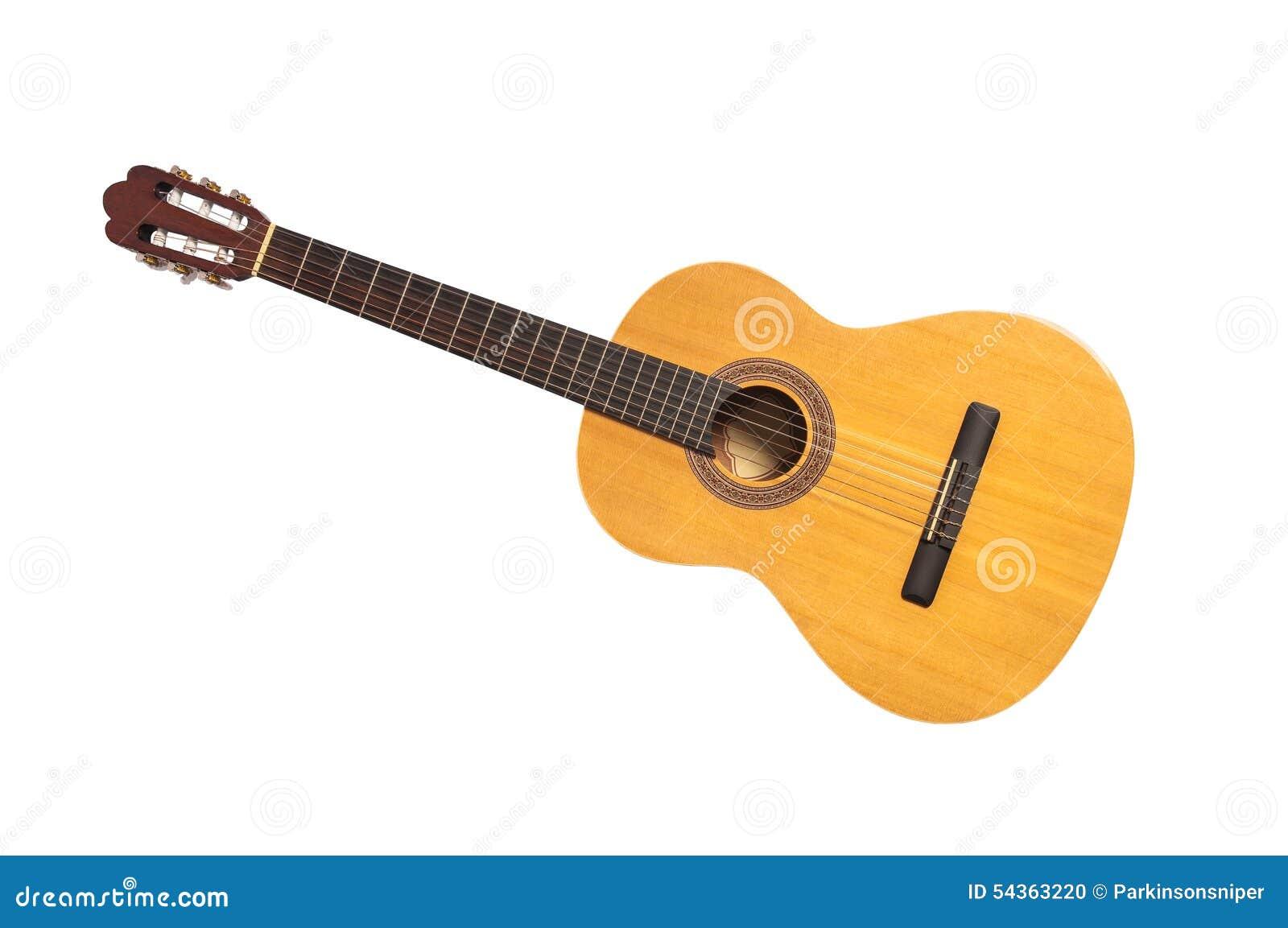Изолированная классическая гитара