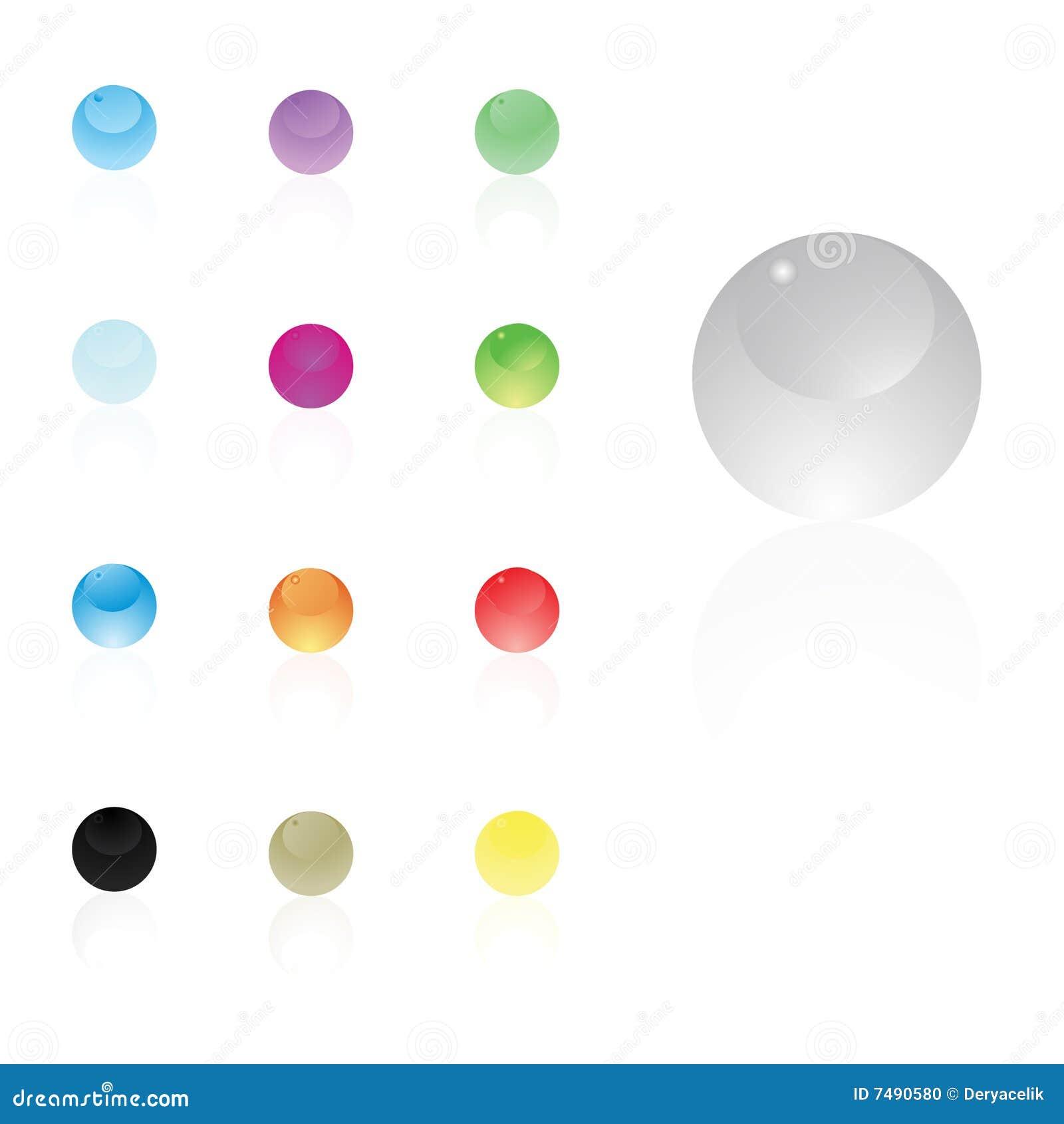 Икона вектора сферы