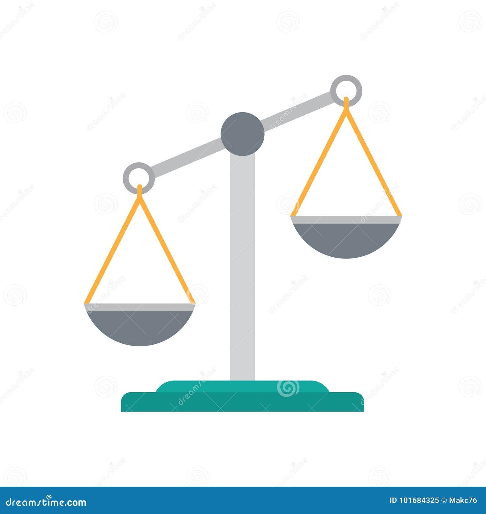 Икона весов правосудия