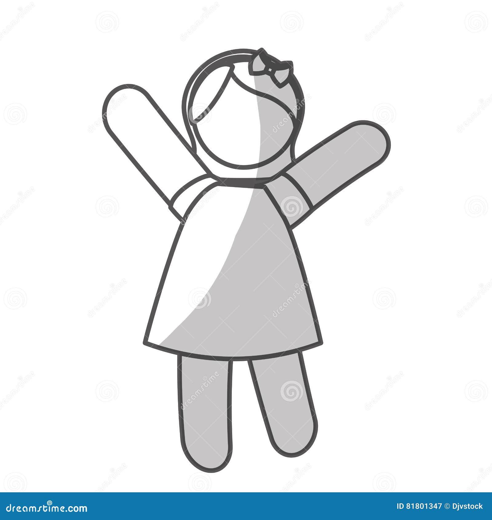 икона девушки счастливая