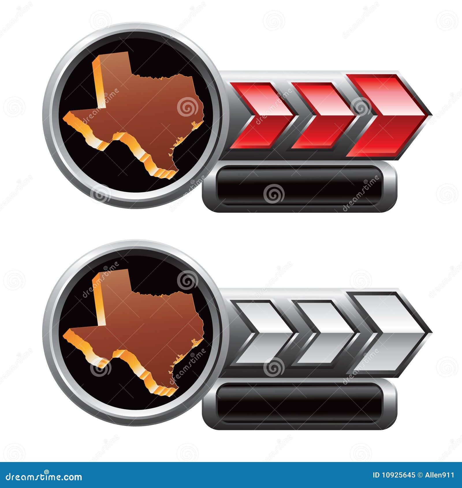 икона красный серебряный texas знамен стрелки