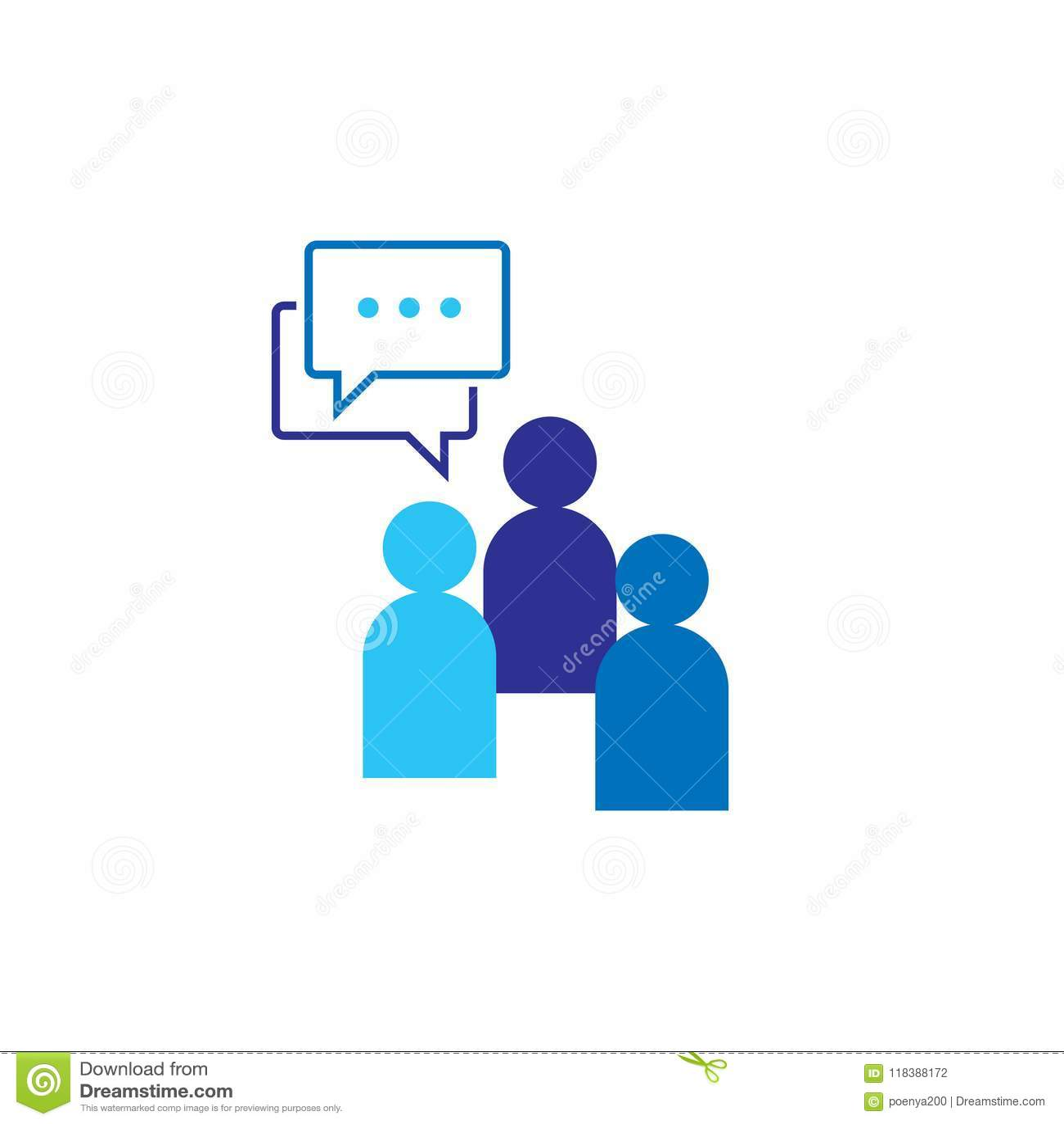 Икона людей Социальный символ логотипа группы сети беседы Команда дела корпоративная работая совместно Знак толпы Руководство или