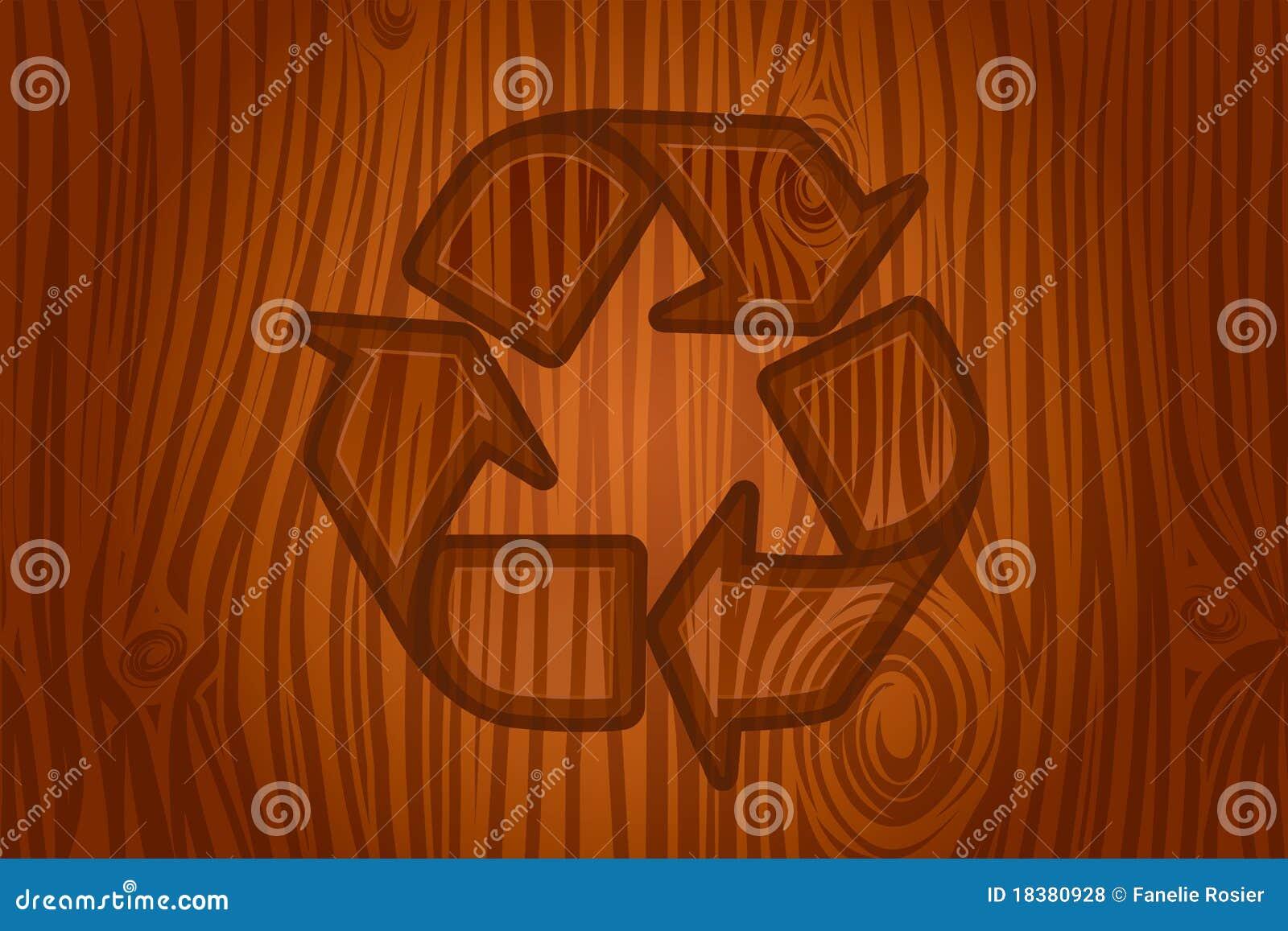 икона расшивы рециркулируя вектор