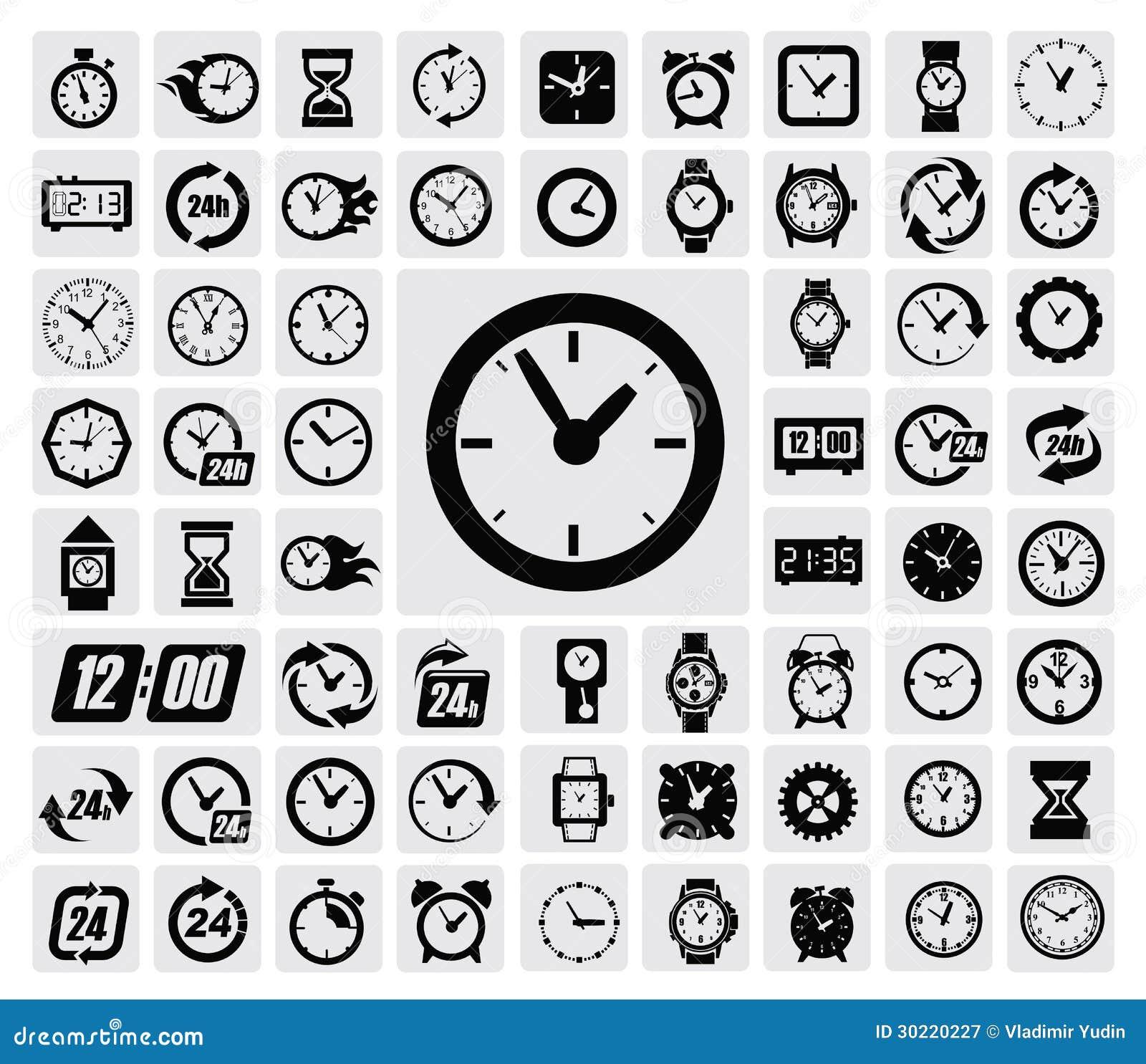 Хронометрирует икону